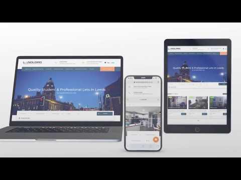 Estate Agents Web Design in Leeds, England by Vindicta