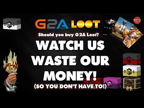 G2A Loot - WATCH THIS BEFORE BUYING! Game Key Loot Box