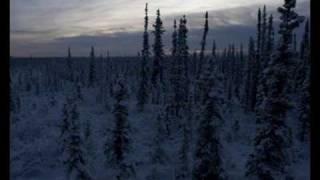 Winter Solstice in the Arctic. Fairbanks, Alaska. Time-lapse video.