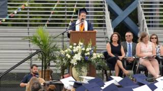Valedictorian rips speech and goes rogue