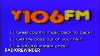 WYAY Atlanta Y106 1986 TV Spot RadioRewinder
