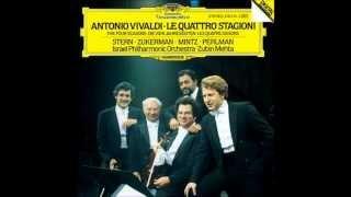 ~ Antonio Vivaldi - Négy évszak:Isaac Stern - Pinchas Zukerman - Shlomo Mintz - Itzhak Perlman ~