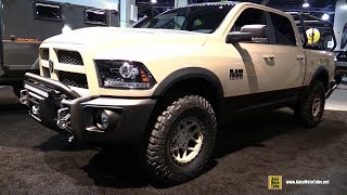 2017 Ram 1500 Customized By AEV American Expedition Vehicles - Exterior Walkaround - 2017 SEMA