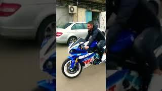 Супер мотоцикл , такого вы ещё не видели .