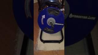 Harbor Freight plumbing snake - Video Youtube