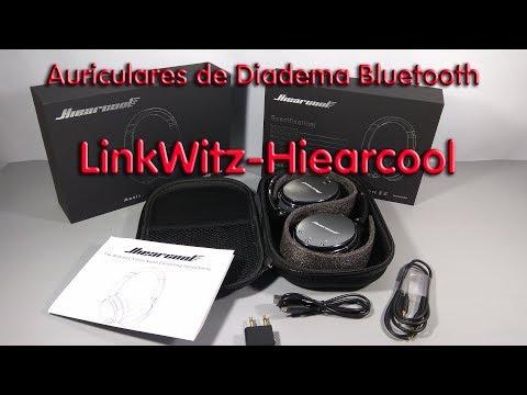 Auriculares Diadema Bluetooth LinkWitz-Hiearcool