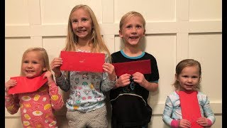 📬KIDS WRITE LETTERS TO SANTA! 🎅🏼| FAMILY CHANNEL
