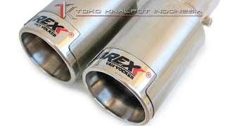 Tailpipe Brexx Cassing Empty Tail (MC D 3010 TCET)