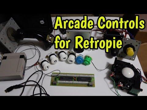 Configure a USB Spinner in RetroPie on Your Raspberry Pi - смотреть