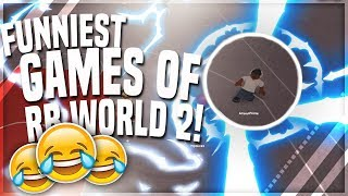 FUNNIEST GAMES OF PARK! (RB WORLD 2)
