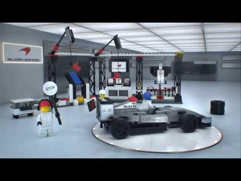 Vidéo LEGO Speed Champions 75911 : L'arrêt au stand McLaren Mercedes