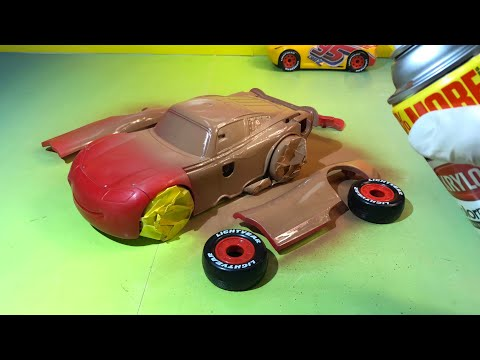 Disney pixar cars chester whipplefilter lightning mcqueen race and change cruz ramirez cars 3