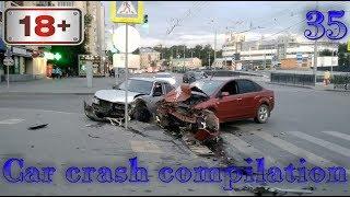 Car crash compilation Dash cam accidents Подборка Дтп #35