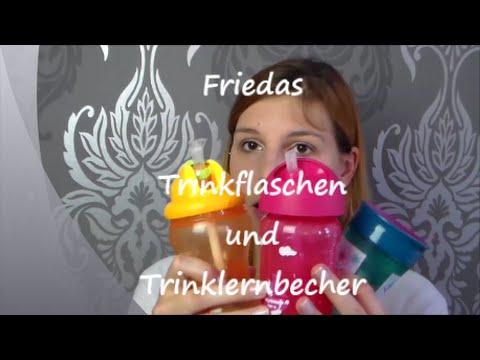 Friedas Trinkflaschen und Trinklernbecher | Beas Babywelt