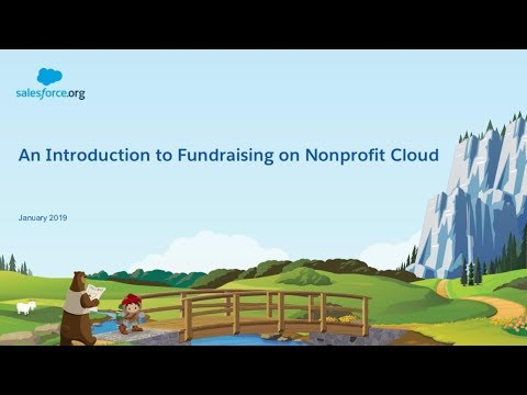 An Introduction to Fundraising on Nonprofit Cloud - YouTube
