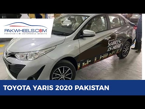 Toyota Yaris 2020 Pakistan Launch: Price, Specs & Features | PakWheels