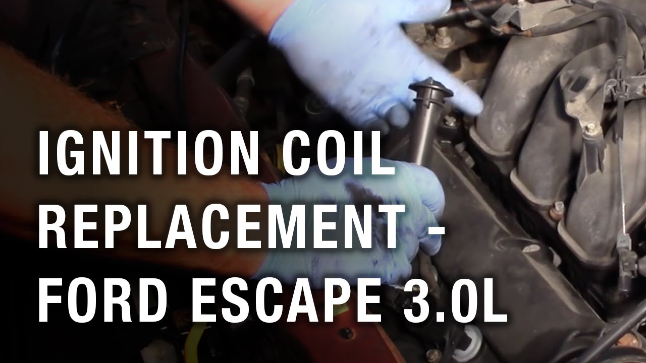 ignition coil replacement ford escape 3 0l [ 1280 x 720 Pixel ]