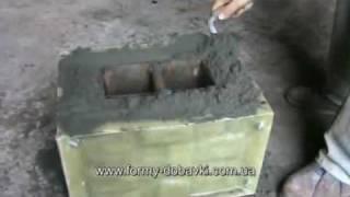 Изготовление блока наборного столба