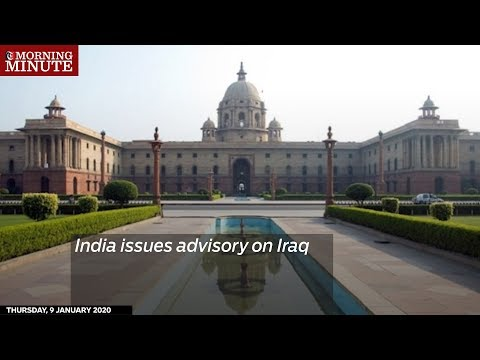 India issues advisory on Iraq