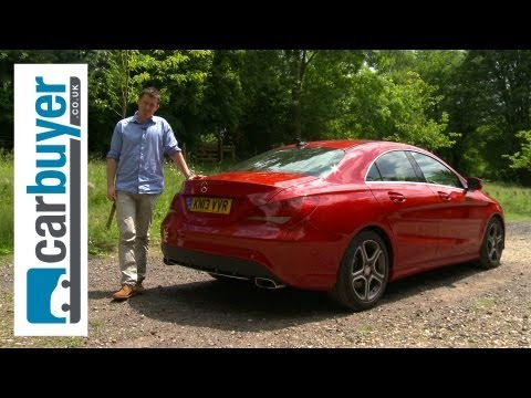 Mercedes CLA saloon 2013 review - CarBuyer