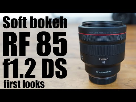 External Review Video DzGhUW1Aki8 for Canon RF 85mm F1.2L USM DS Lens