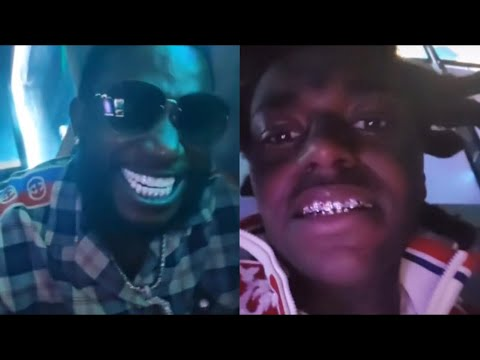 Gucci Mane & Kodak Black Turn Up To First Day Out