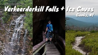 VIDEO: Verkeerderkill Falls + Ice Caves Hike | Sam's Point, Gunks, NY