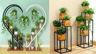 Metal Plant Stand// Flower Planter Garden Display Holder Shelf Rack.