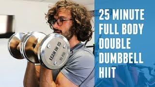 25 Minute Full Body Dumbbell HIIT | The Body Coach by The Body Coach TV