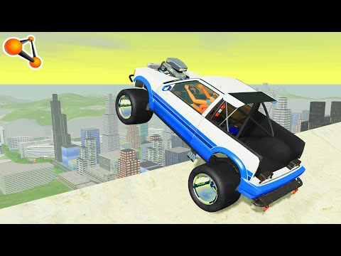 Epic High Speed Jumps #51 – BeamNG Drive | CrashTherapy