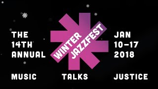 New York, New York! Maaike attending Winterjazz
