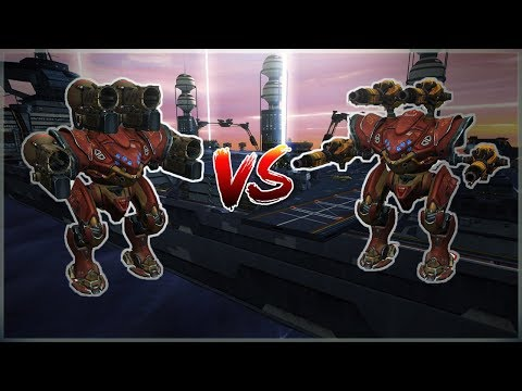 [WR] 🔥 [4K] Igniter VS Taran SPECTRE (preview) - Comparison With Gameplay | War Robots