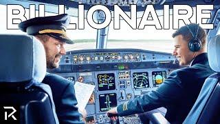 Inside The Life Of A Billionaire Pilot