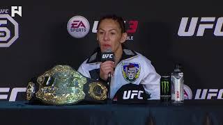 UFC 222: Cris Cyborg Post-Fight - I
