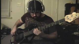 Them Crooked Vultures - Gunman (Bass Cover)