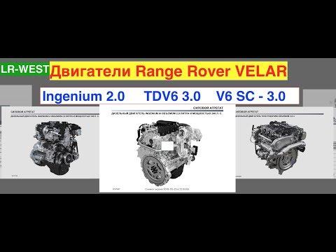 Range Rover VELAR - какие двигатели? Обзор Велар. Часть 3
