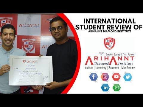 International Student of Arihannt Diamond Institute