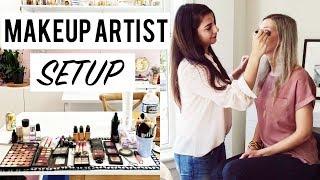 Makeup Artist Kit Setup
