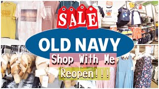 Old Navy Shop With Me June 2020 * Reopen * Clearance At Old Navy 🏷