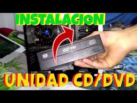 Como instalar Unidad de CD/DVD en tu PC 2018