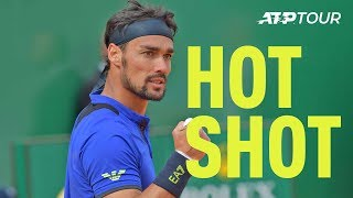 Hot Shot: What A Way For Fognini To Finish Nadal! | Monte-Carlo 2019