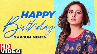 Birthday Wish | Sargun Mehta | Birthday Special | Latest Punjabi Songs 2020 | Speed Records