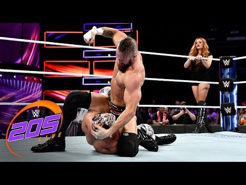 Download Mike Kanellis interrupts the match between Lince Dorado and Lio Rush: WWE 205 Live, Oct. 10, 2018 HD Mp4 3GP Video and MP3