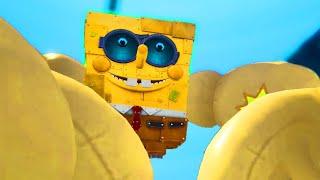 All Bosses in SpongeBob Battle for Bikini Bottom - Rehydrated (No Damage) + SpongeBot SteelPants