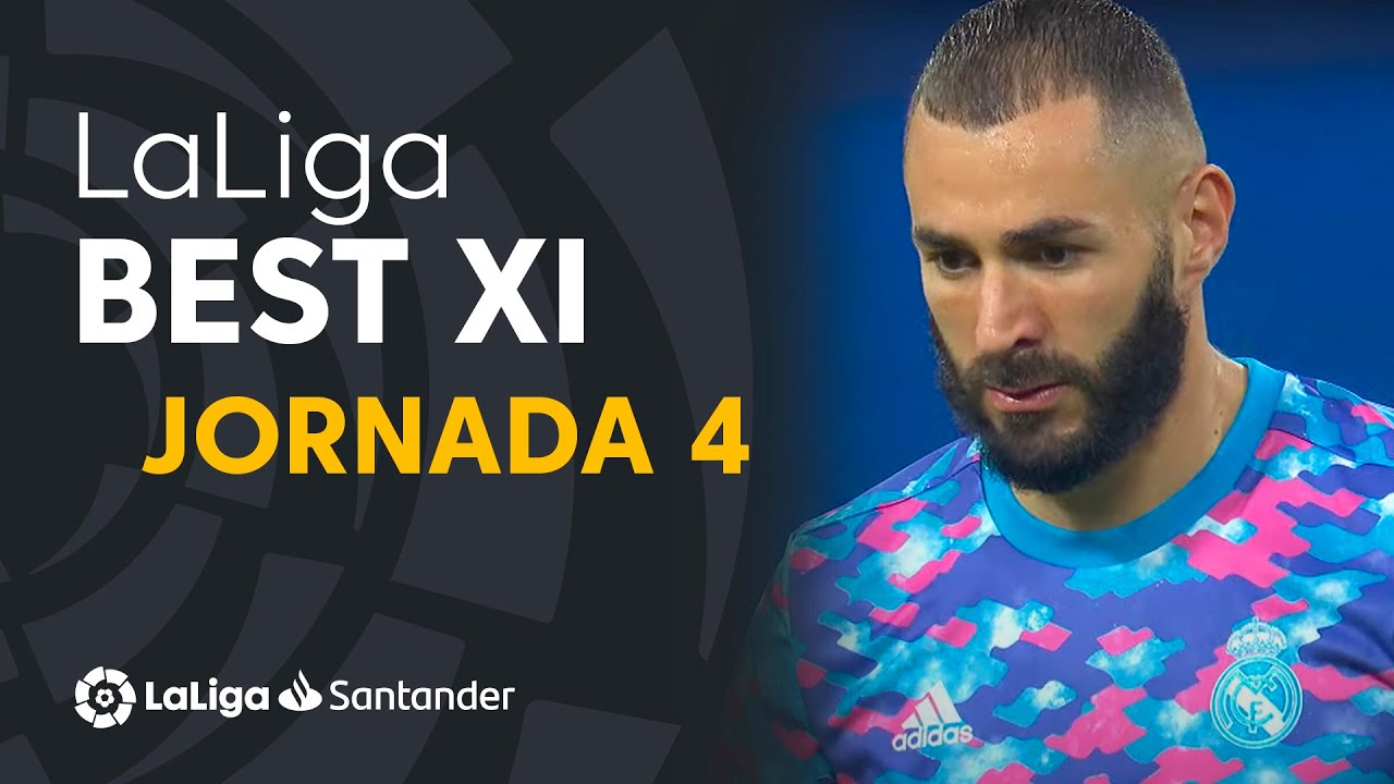 LaLiga Best XI Jornada 4