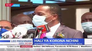 Waziri Matiang\'i apokea ripoti kutoka Viongozi wa Kidini, asema itawasilishwa kwa rais hivi leo