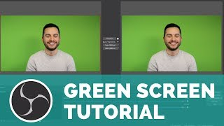 How to Live Stream with a Green Screen (OBS Tutorial)