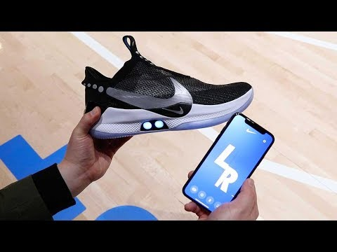8045052fb88 Google News - Nike unveils self-lacing shoes - Overview