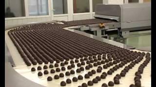Шоколад, Как делают шоколадные конфеты?
