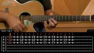 Chove, Chove - Jorge e Mateus (aula de violão completa)